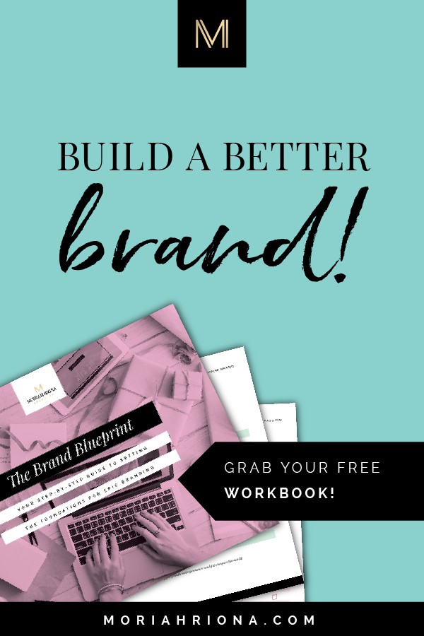 Ready to build your brand strategy? CLICK HERE to grab your free Brand Blueprint — a 20-page workbook to help you set the foundation for epic branding. Branding and marketing for creative entrepreneurs. #branding #marketing #smallbiz #photographer #entrepreneur