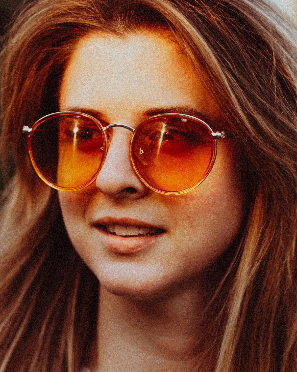 nashville-portrait-photographer-sunset-golden-sunglasses-orange