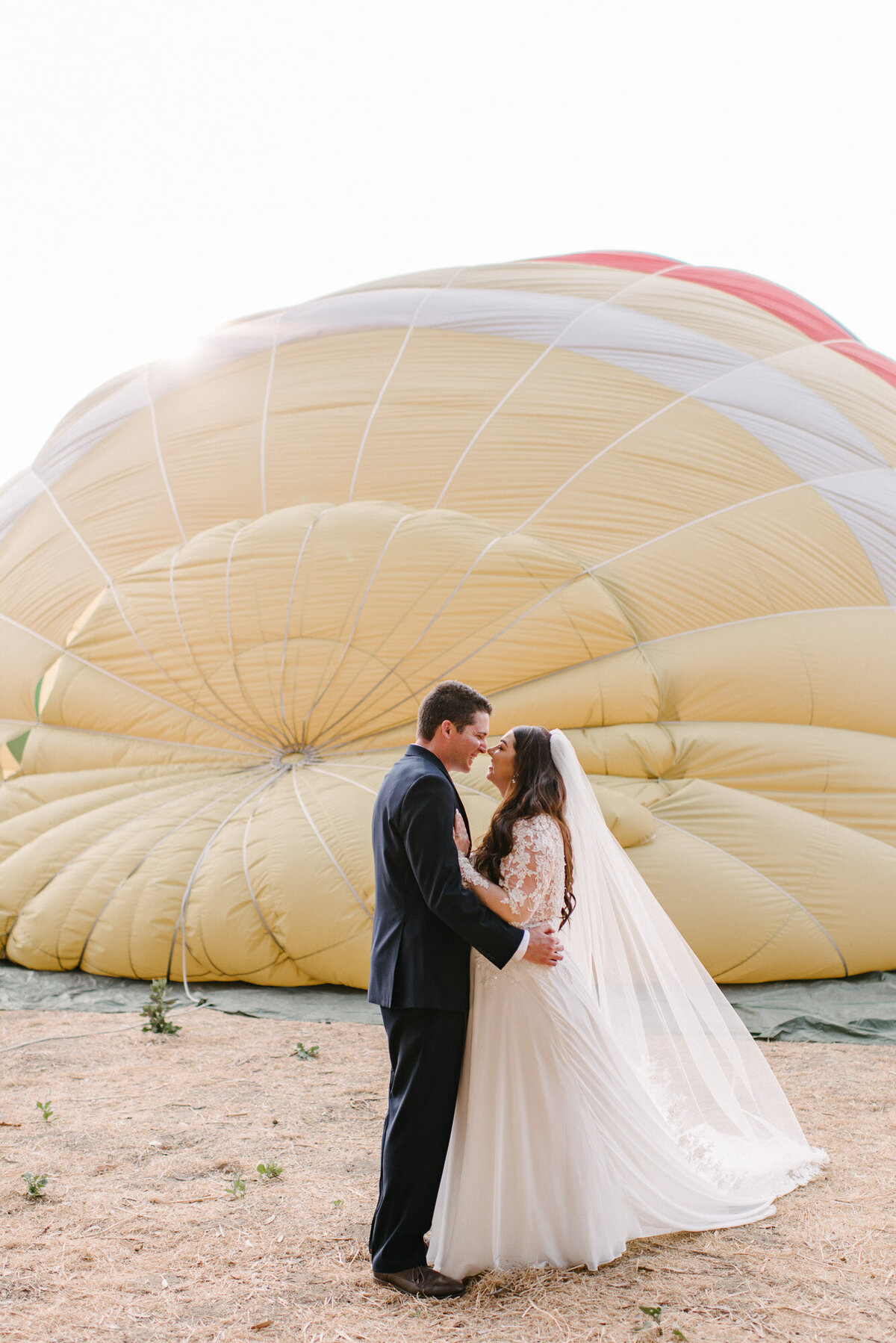 Hot Air Balloon Elopement Marie Monforte Photography-94
