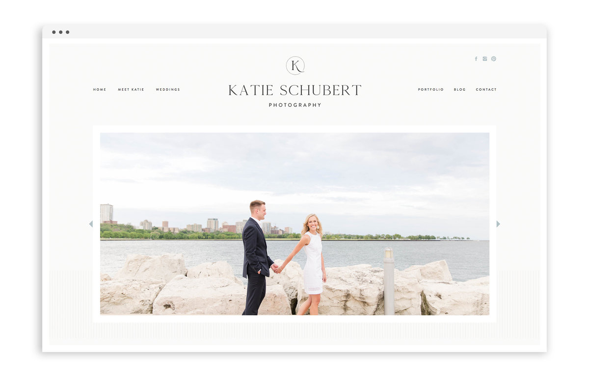 Katie Schubert Photography - Custom Brand and Showit Web Design by With Grace and Gold - Showit Theme, Showit Themes, Showit Template, Showit Templates, Showit Design, Showit Designer - 2