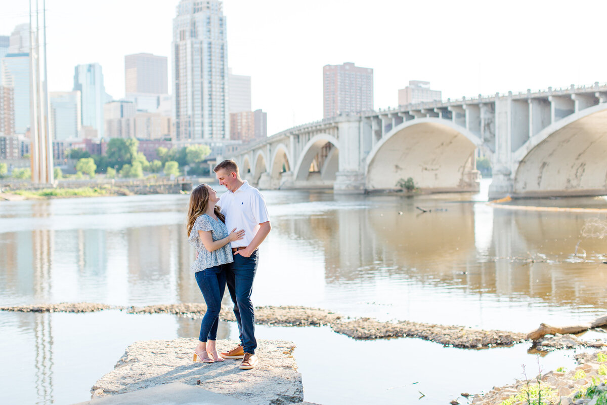olive park chicago engagement session