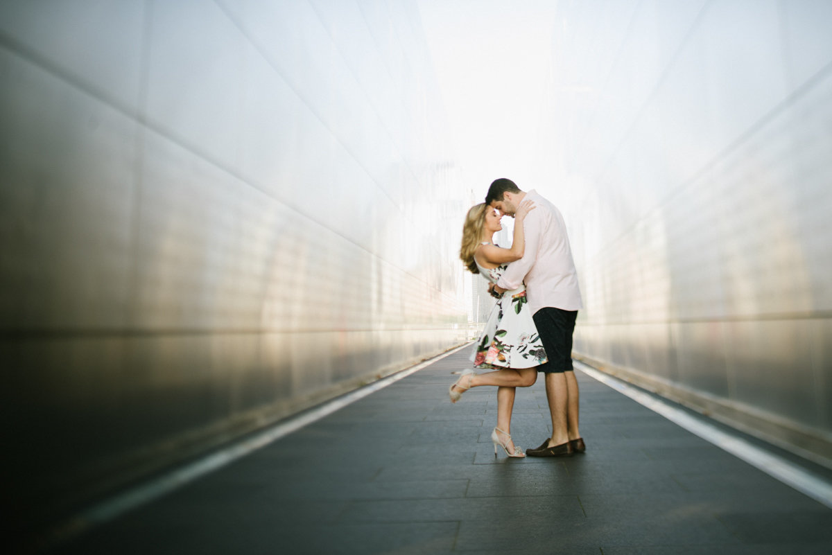 Liberty State Park engagement session in new jersey