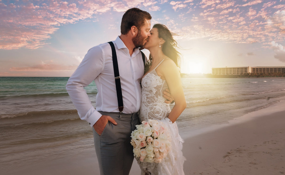 cancun wedding, destination wedding, 405 brides, sunset wedding
