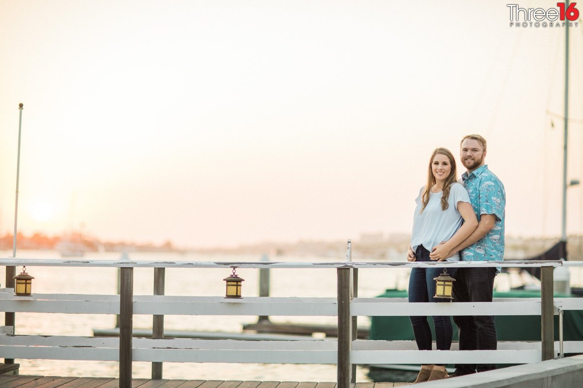 Balboa Island Engagement Photo Session  Photography