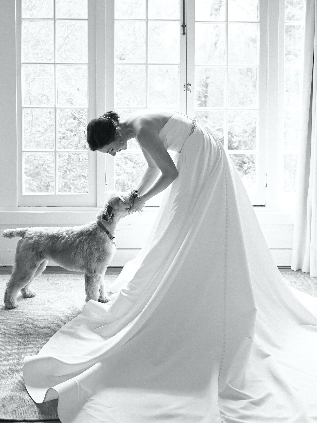 Classic Black and White Wedding Photographs Robert Aveau for © Bonnie Sen Photography