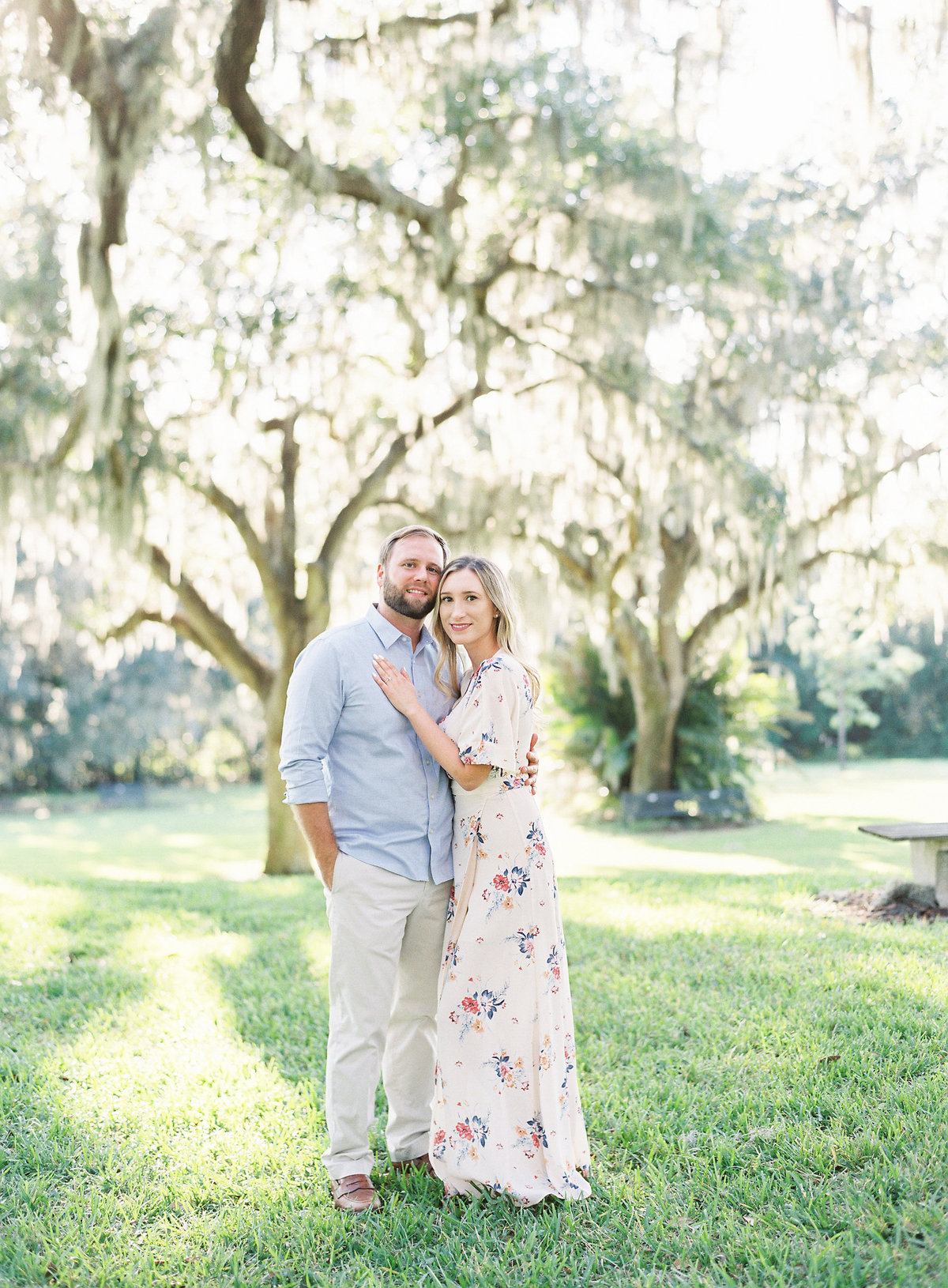 Bok_Tower_Garden_Film_Fine_Art_Engagement_Session-15