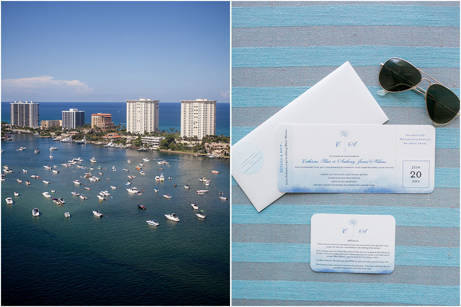 boca beach club wedding details