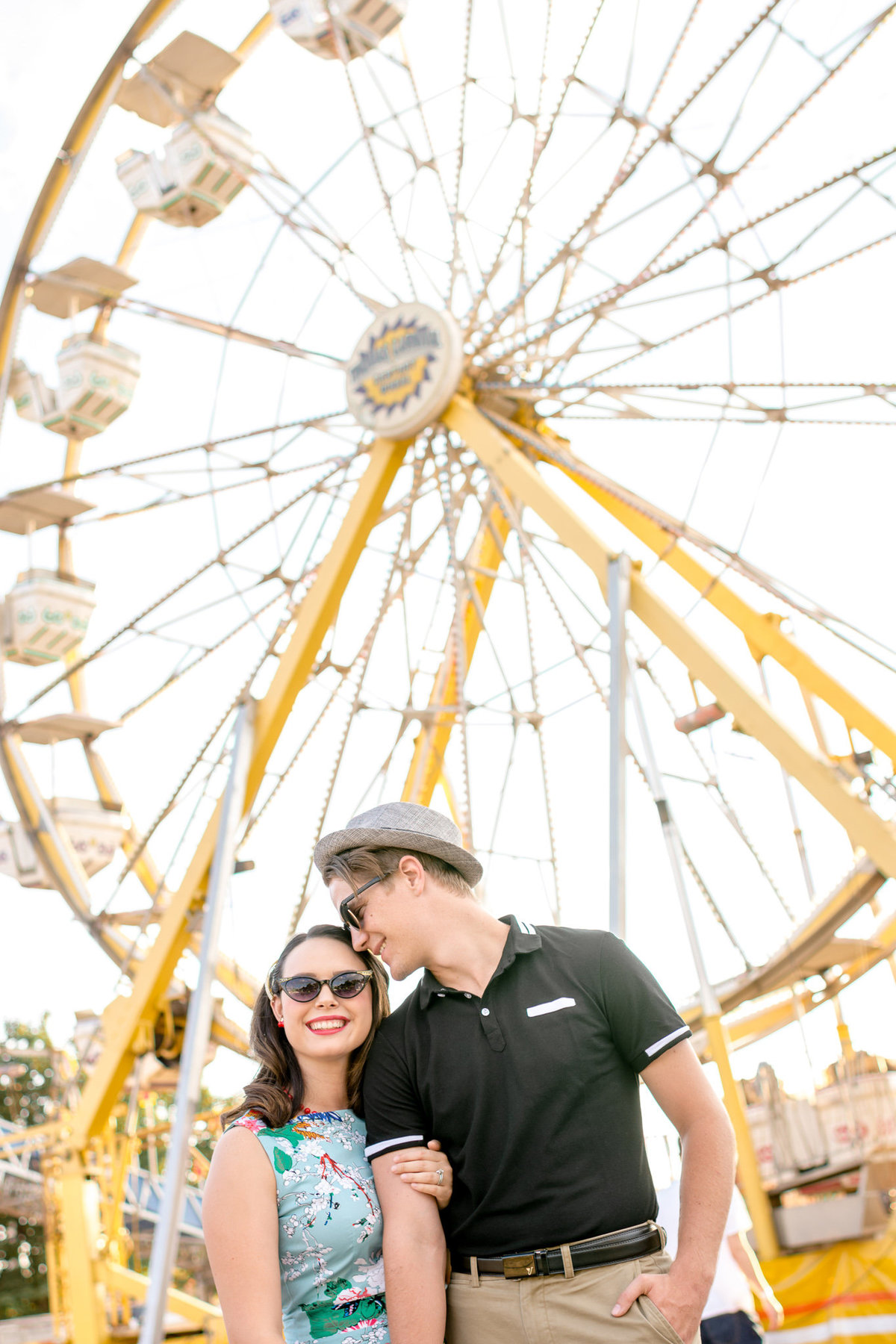 State Fair Carnival Engagement Session_001