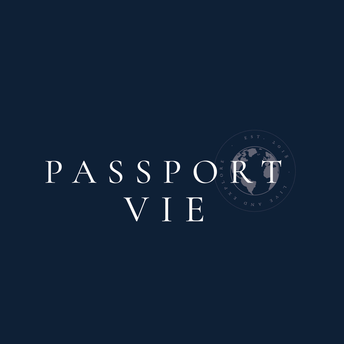 Passport Vie Brand Design