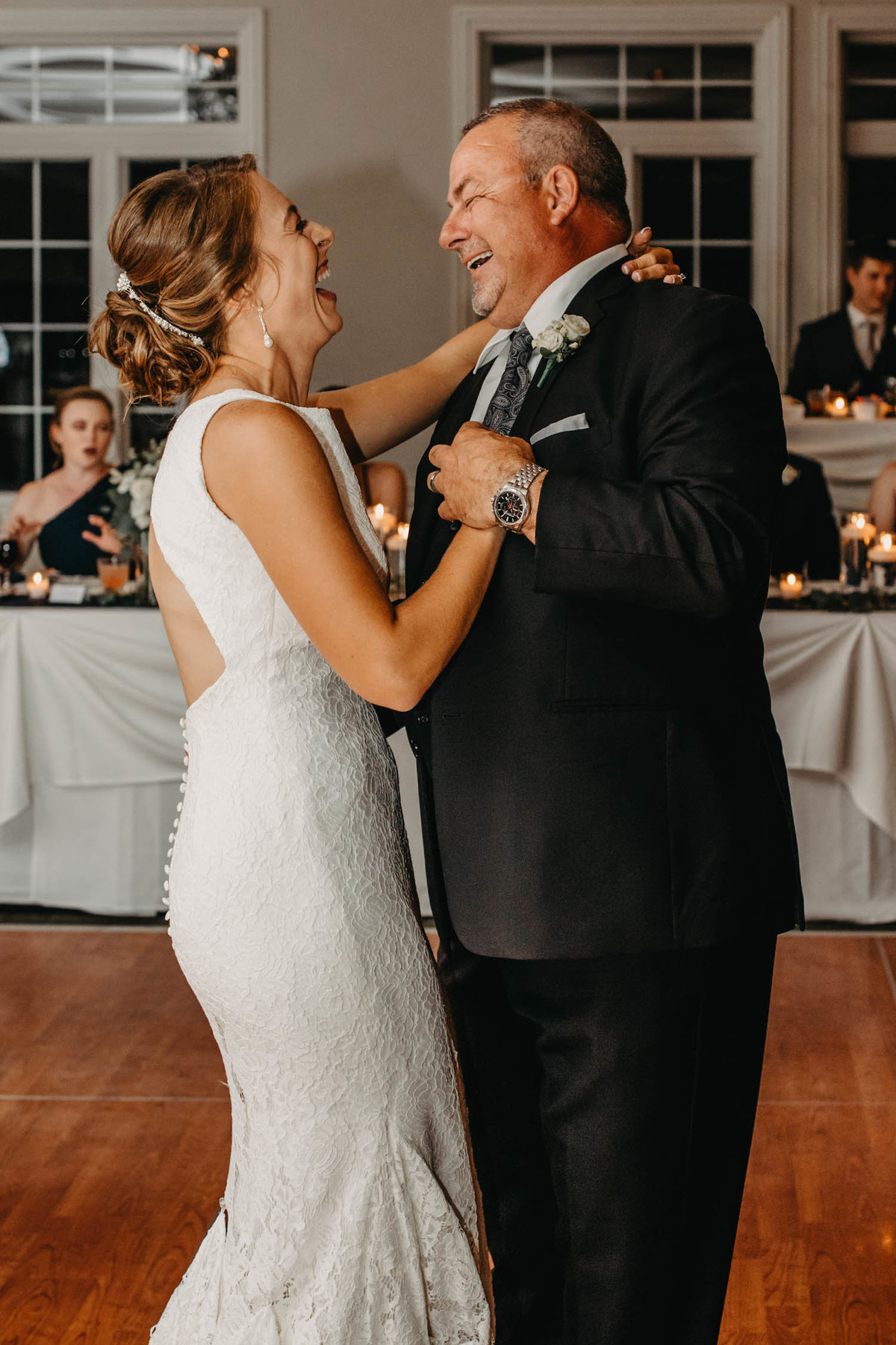 first-dance-bride-and-dad--ruffled-feathers-golf-club-lemont-il-adventurous-wedding-photographer