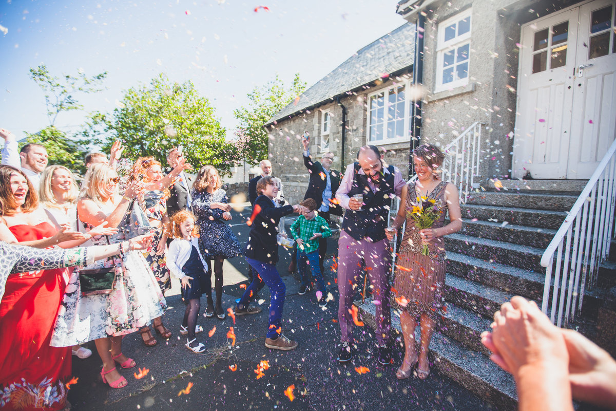 confetti falmouth wedding photographer couple
