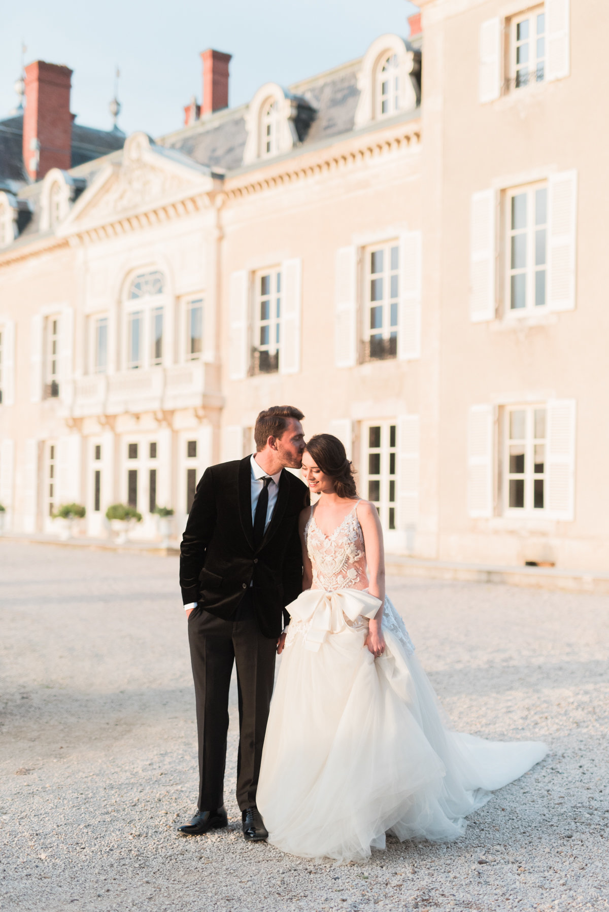 Destination Wedding Film Fine Art Photographer  France -French Chateau Elopement _ Hello Blue Photo -73