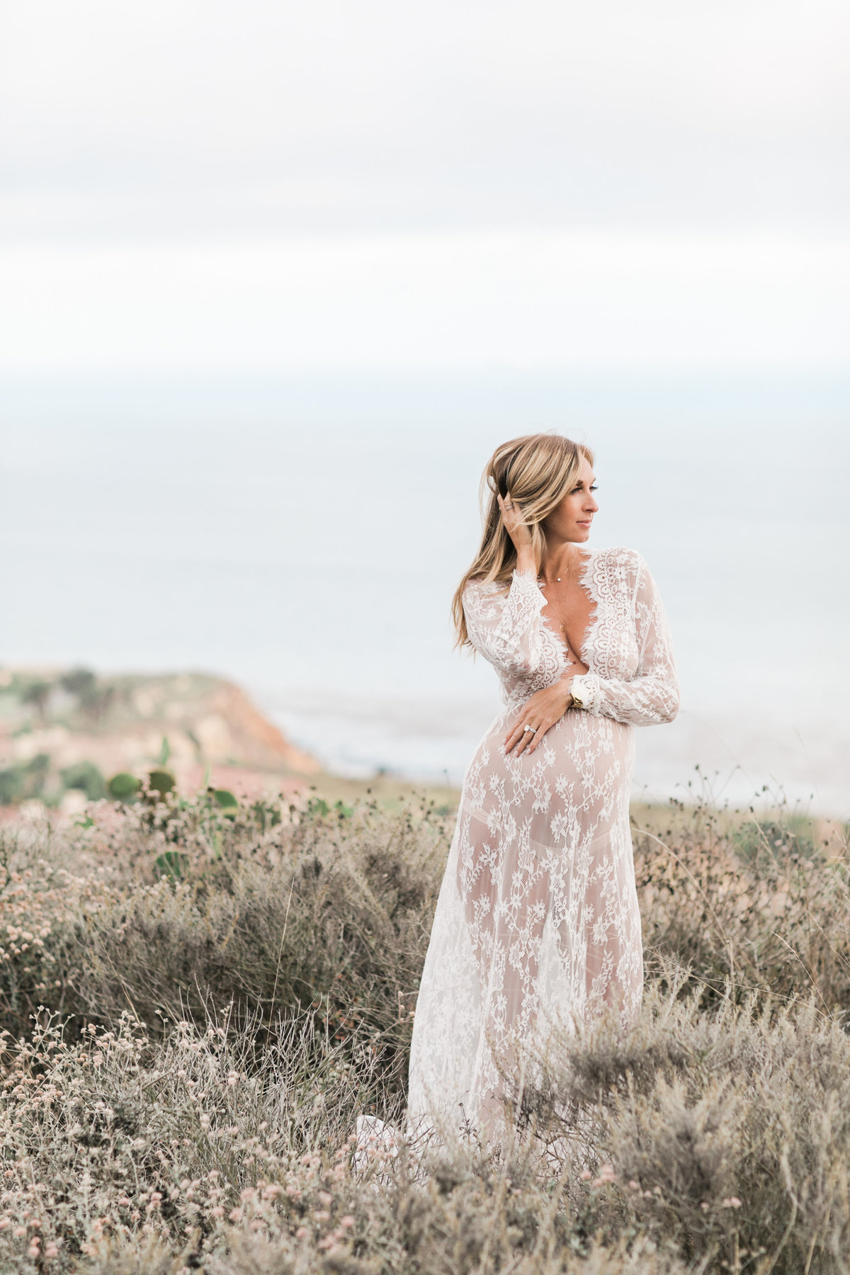 Southern California Coastline Maternity Session_Valorie Darling Photography-6535