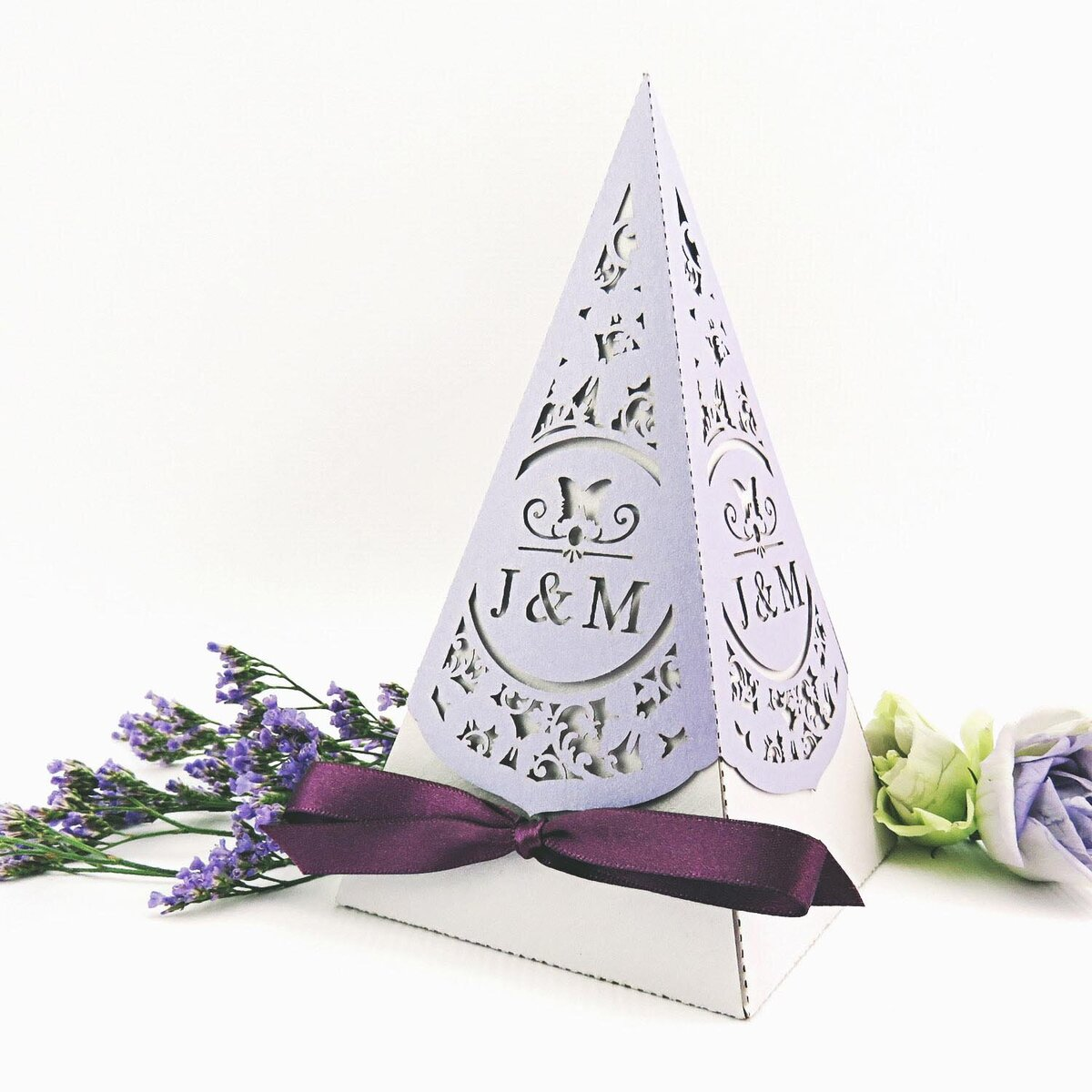 butterfly_wedding_pyramid_favour_box