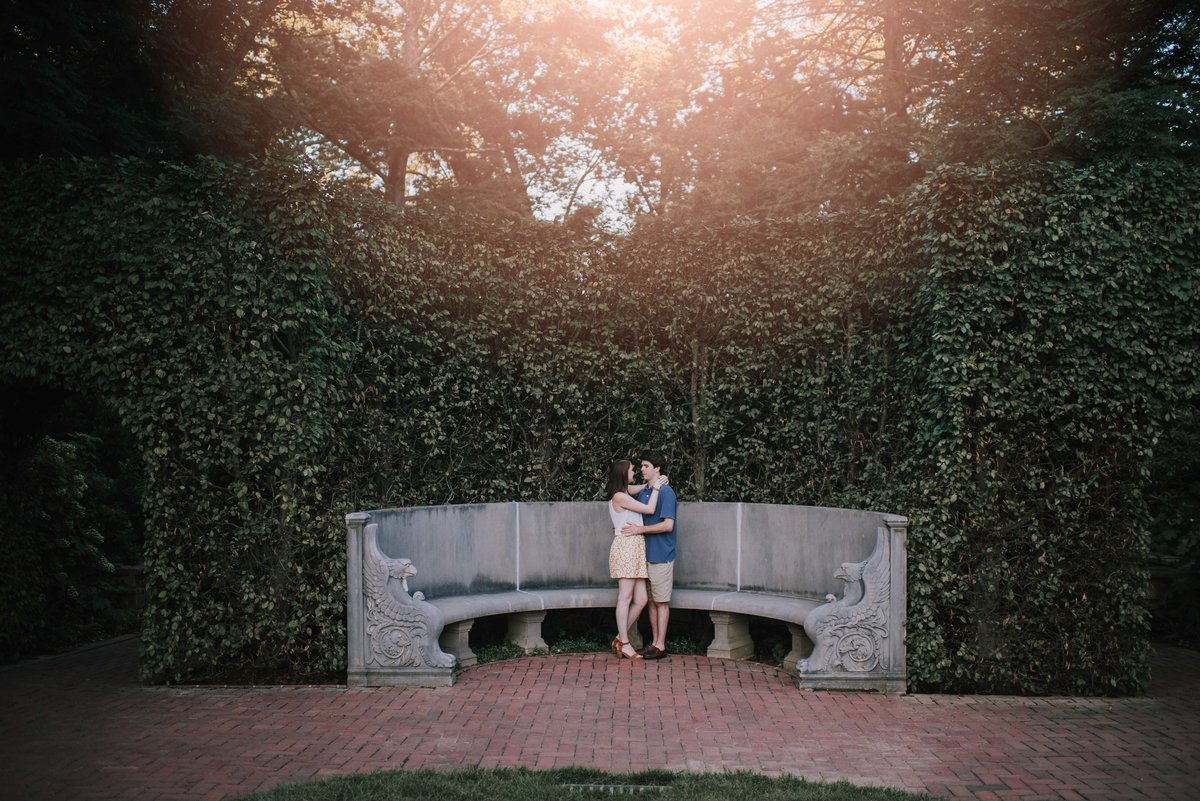 Longwood Gardens Engagement MLE Pictures-22