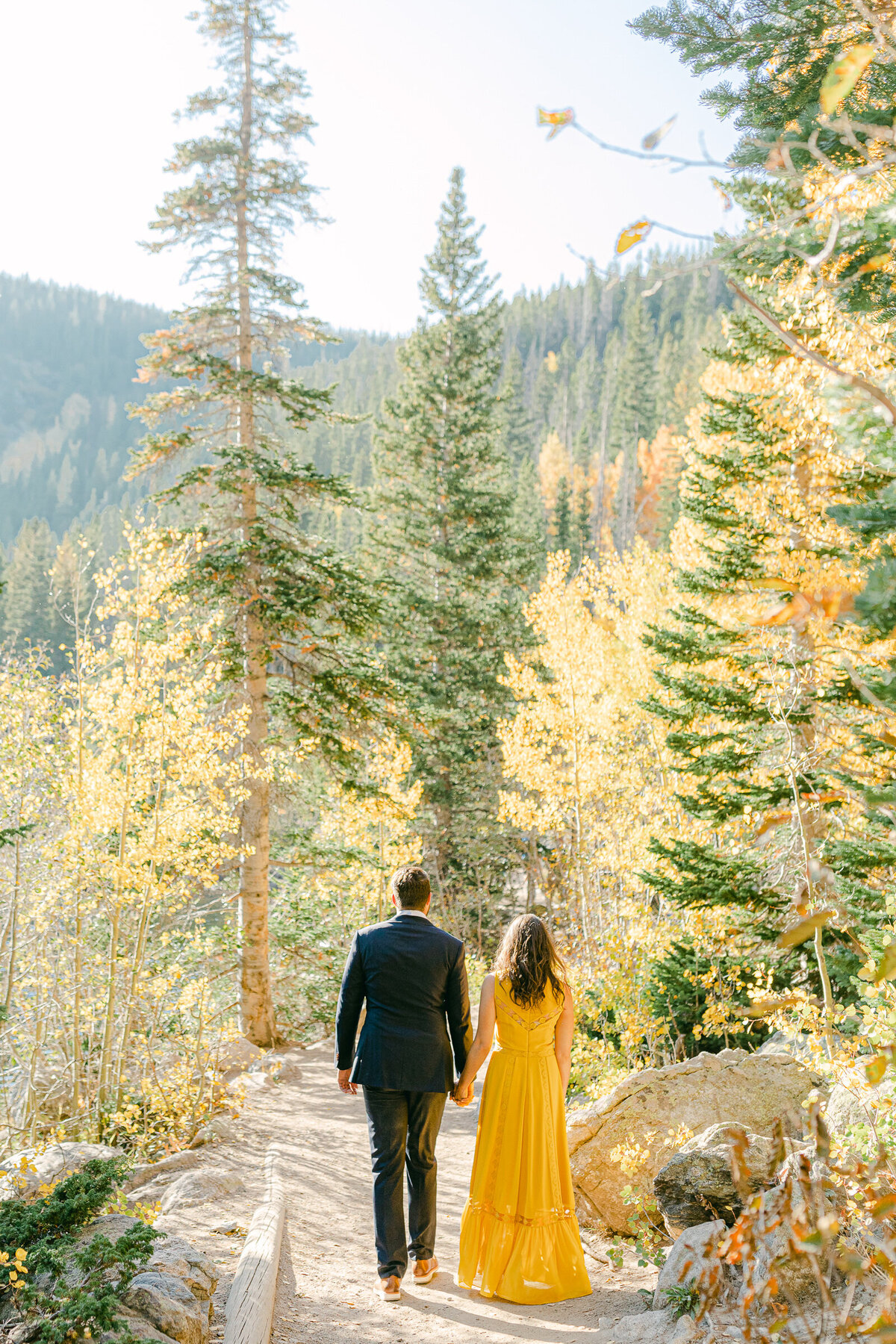 Leidy and Josh Photography | Rocky Mountains National Park Engagement-6