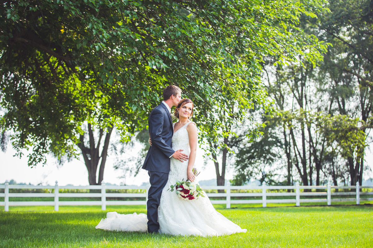 Hubbardston Michigan wedding