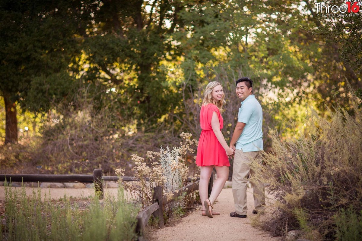 Thomas F. Riley WIlderness Park Engagement Photos Orange County Weddings Professional Photographer