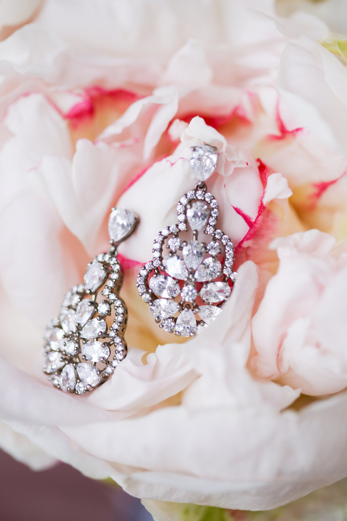 Diamond Earrings - Bella Vogue Kansas City Bride - Bridal Stores Overland Park Kansas