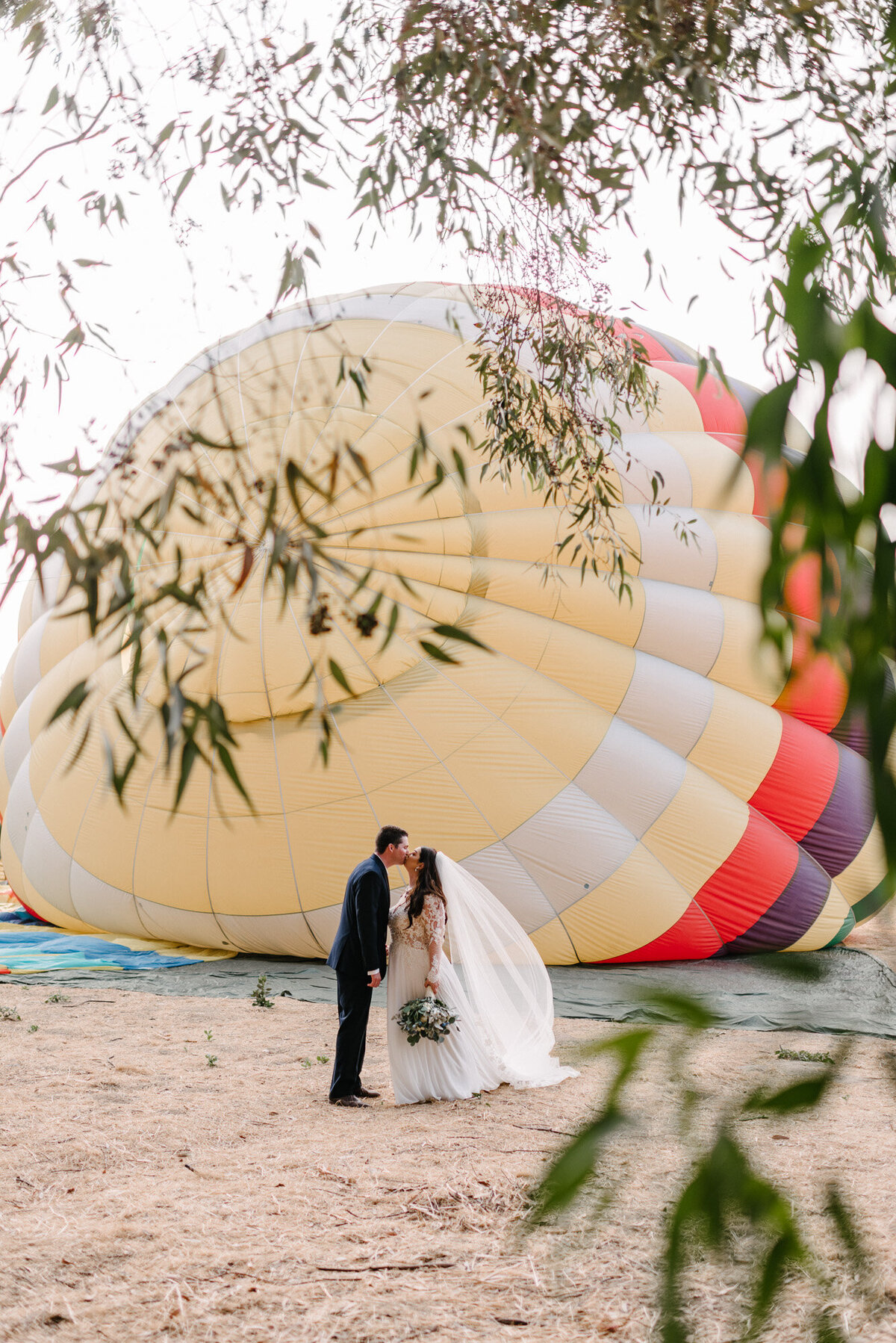 Hot Air Balloon Elopement Marie Monforte Photography-101