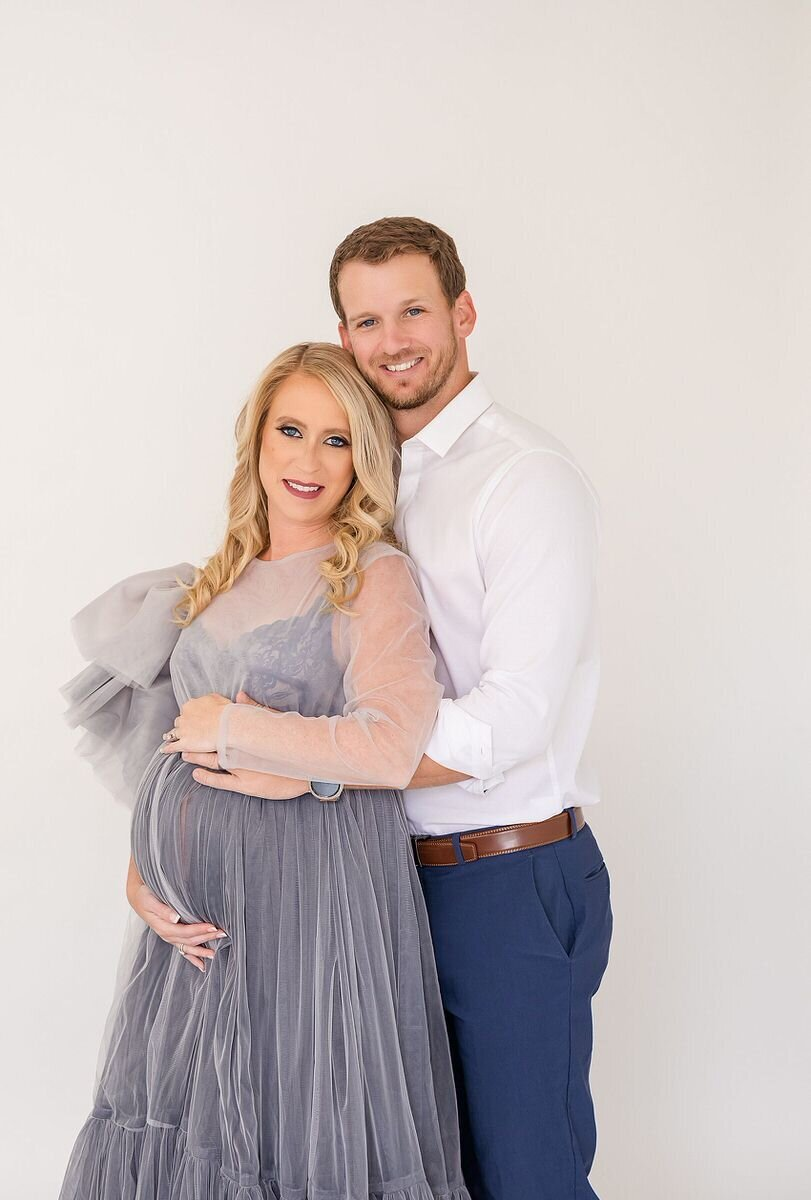 orlando maternity studio photoshoot