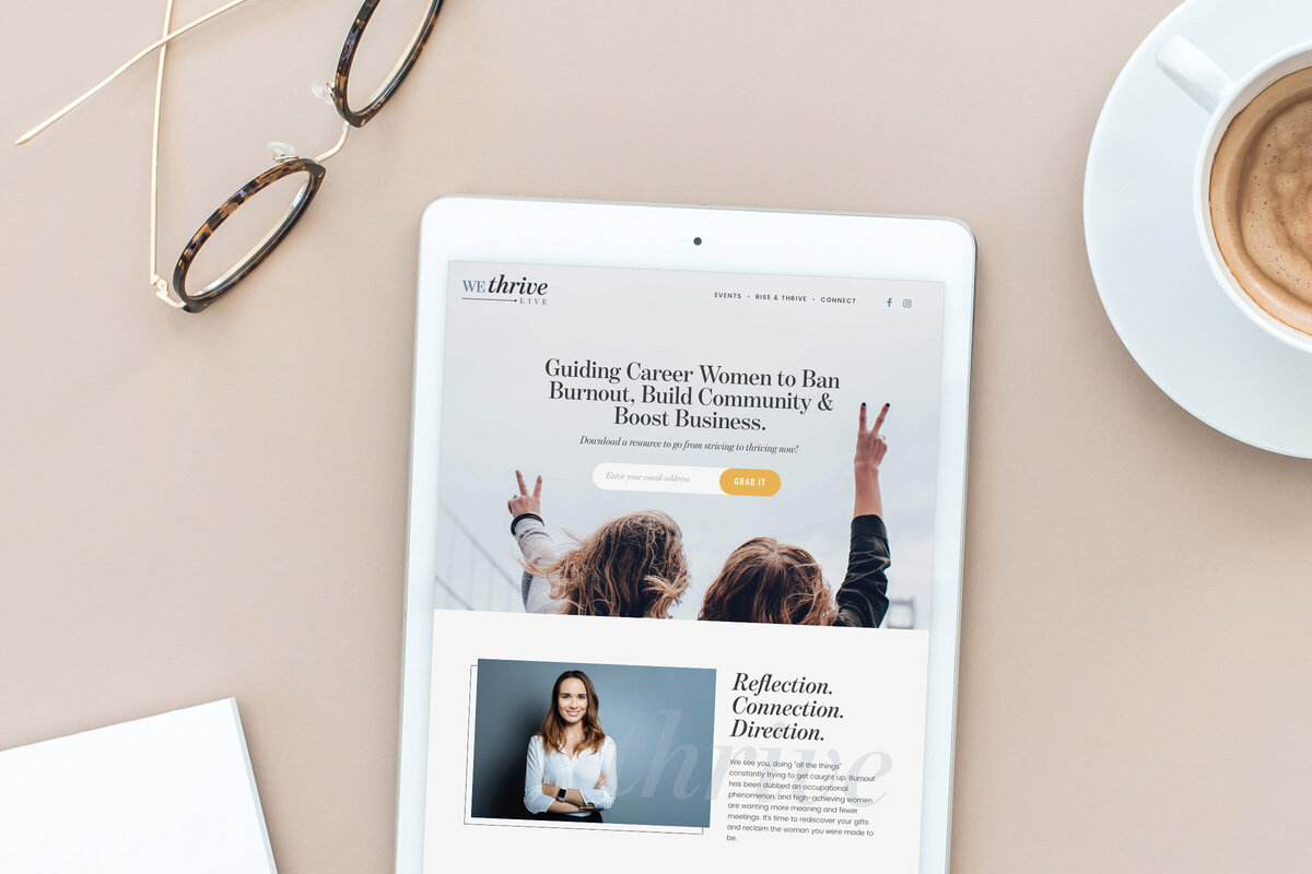 wethrive-website-mockup