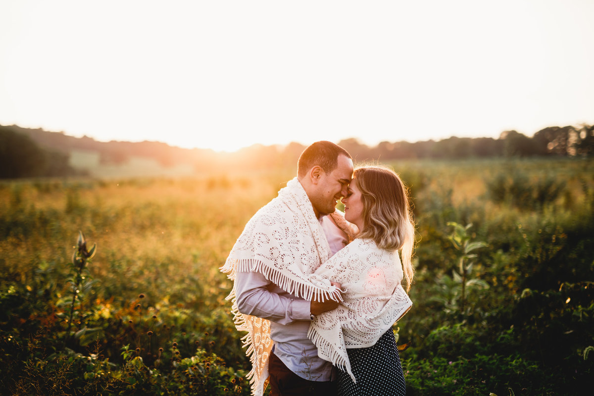 Valley Forge Park Engagement Session Photography 56