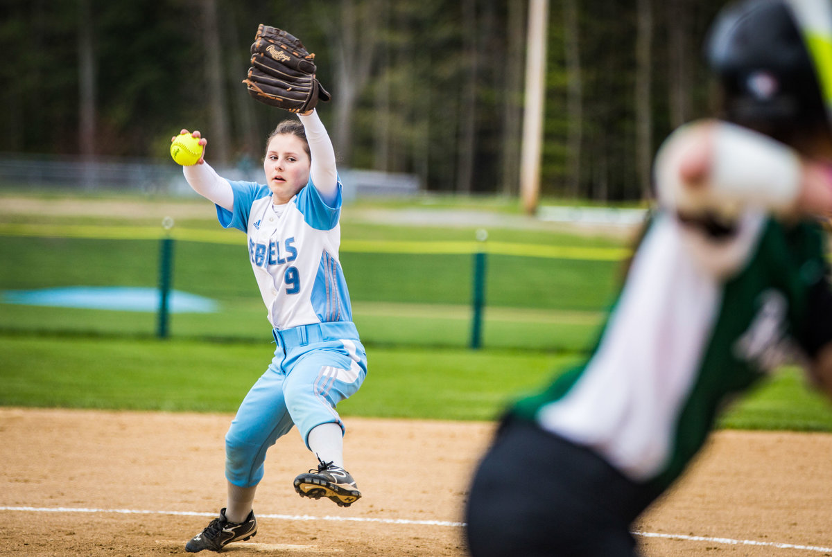Hall-Potvin Photography Vermont Softball Sports Photographer-7