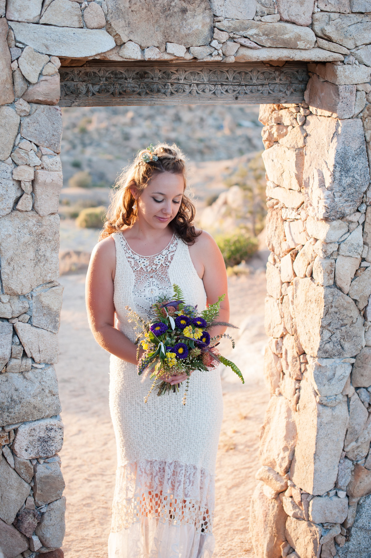 Destination Wedding Photography Joshua Tree Wedding Photography Le Haut Desert Aerie087