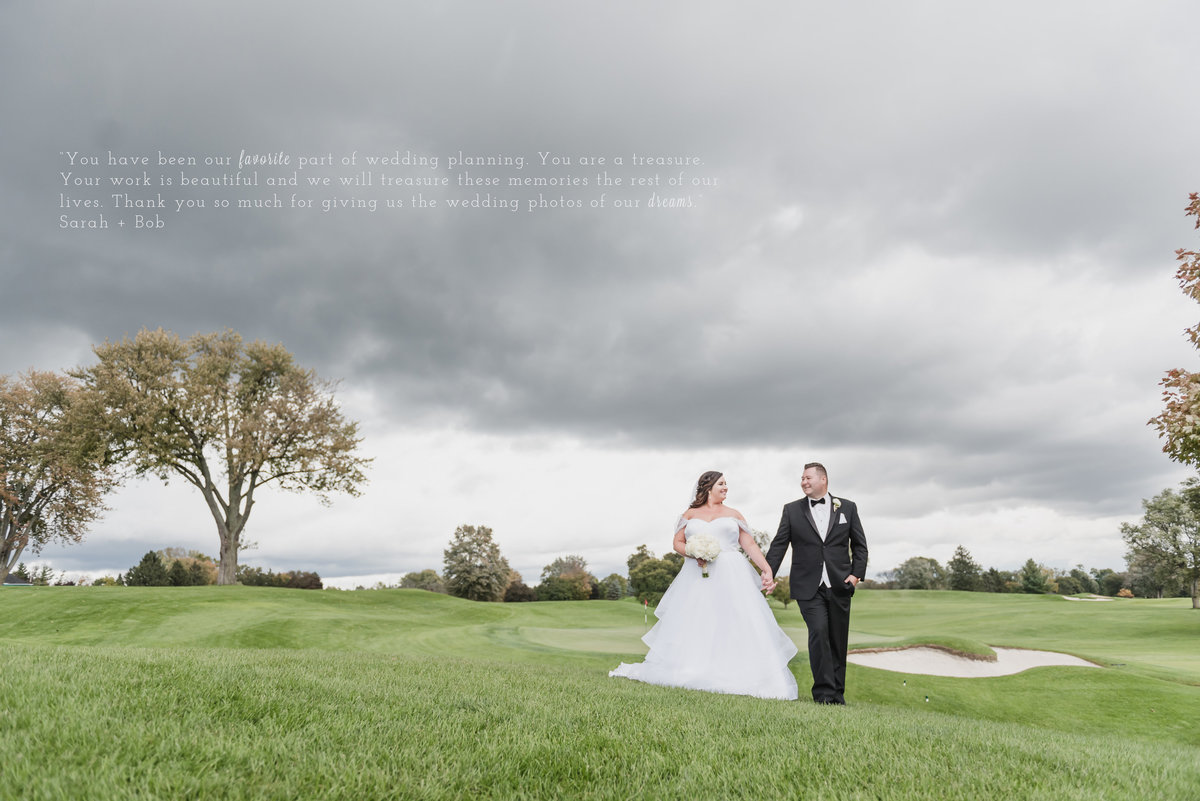 classic black tie fall oakland hills country club in bloomfield township michigan by kari dawson photography