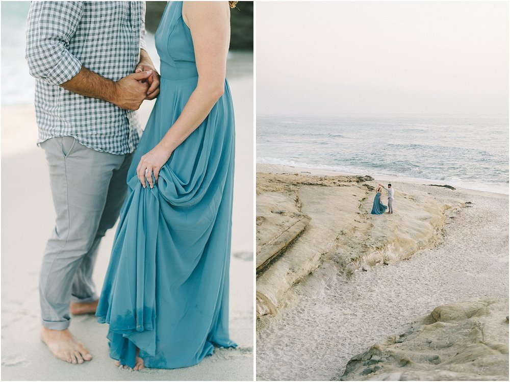 La Jolla California Beach Engagement Session-50