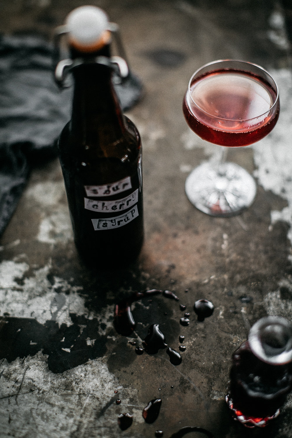 Sour Cherry Syrup - Anisa Sabet - The Macadames - Food Travel Lifestyle Photographer-341
