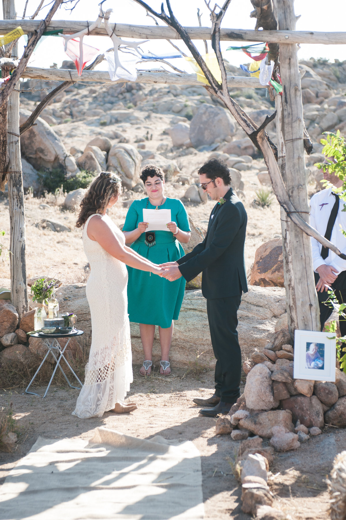 Destination Wedding Photography Joshua Tree Wedding Photography Le Haut Desert Aerie060