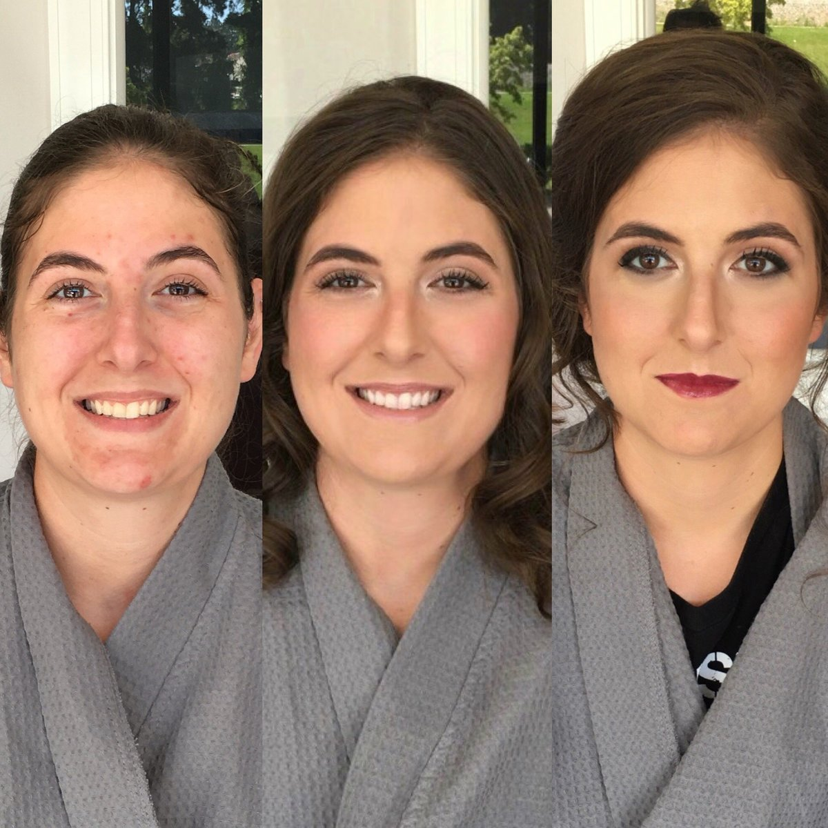 Before and After Natalie Setareh Makeup Artist Lifestyle Rebekah