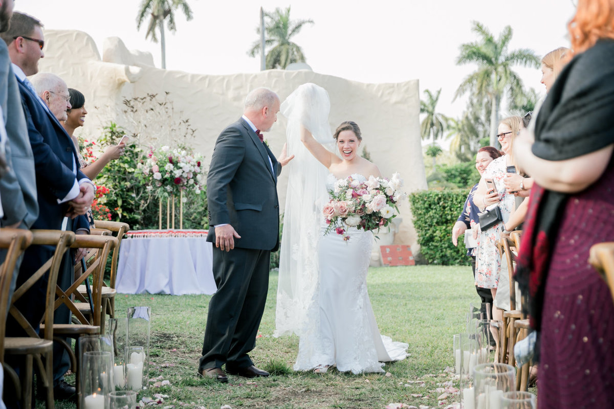 Florida Luxury Garden Wedding