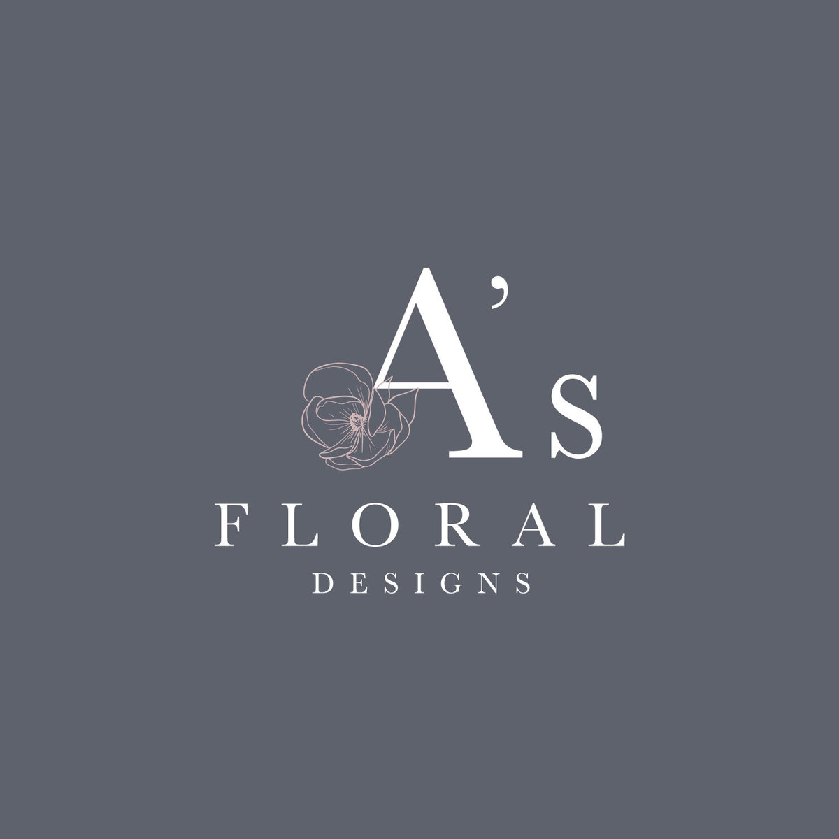 Houston Florist Logo Design