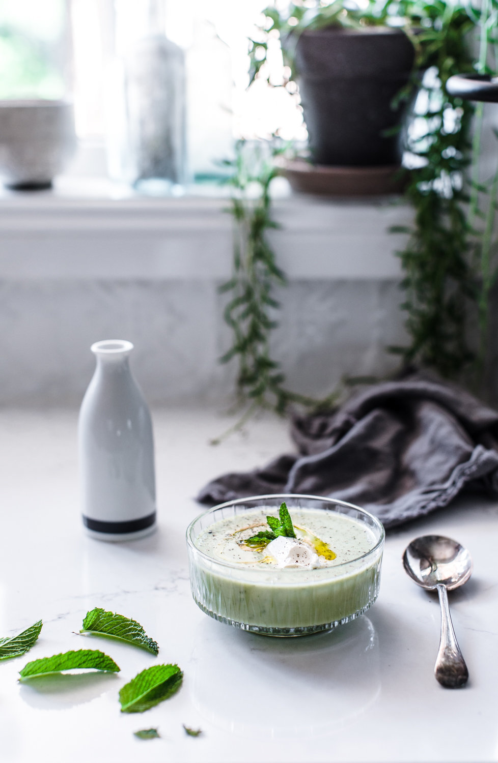 Avocado & Cucumber Chilled Soup - Anisa Sabet - Photographer-10