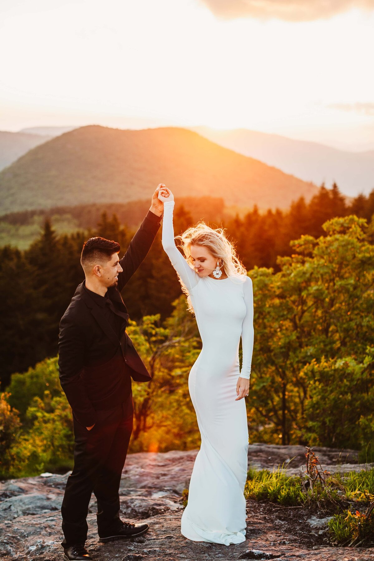 blueridge-mountains-engagement-session