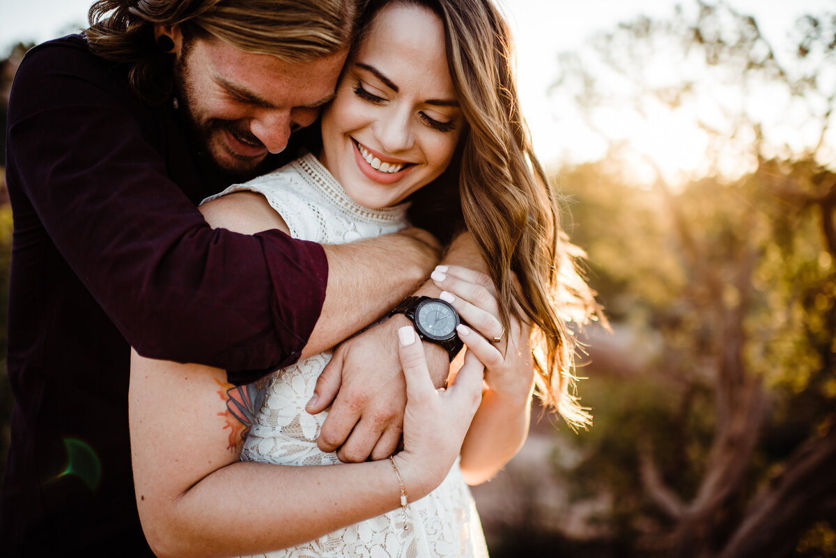 Sunrise Engagement Session at Garden of the Gods - Randy and Ashley Studios - Bud and Katy-38