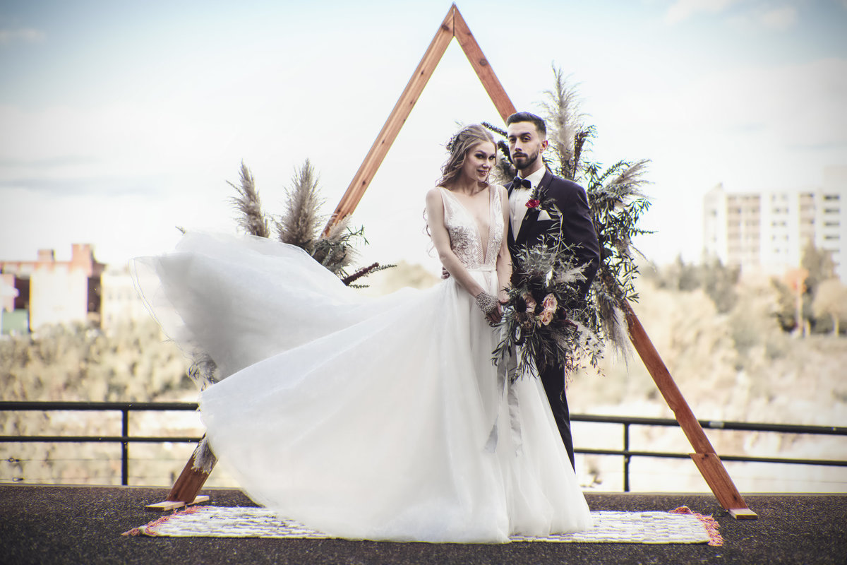 Boho Edgy Fall Wedding Inspiration - Rochester NY - Verve Event Co (5)