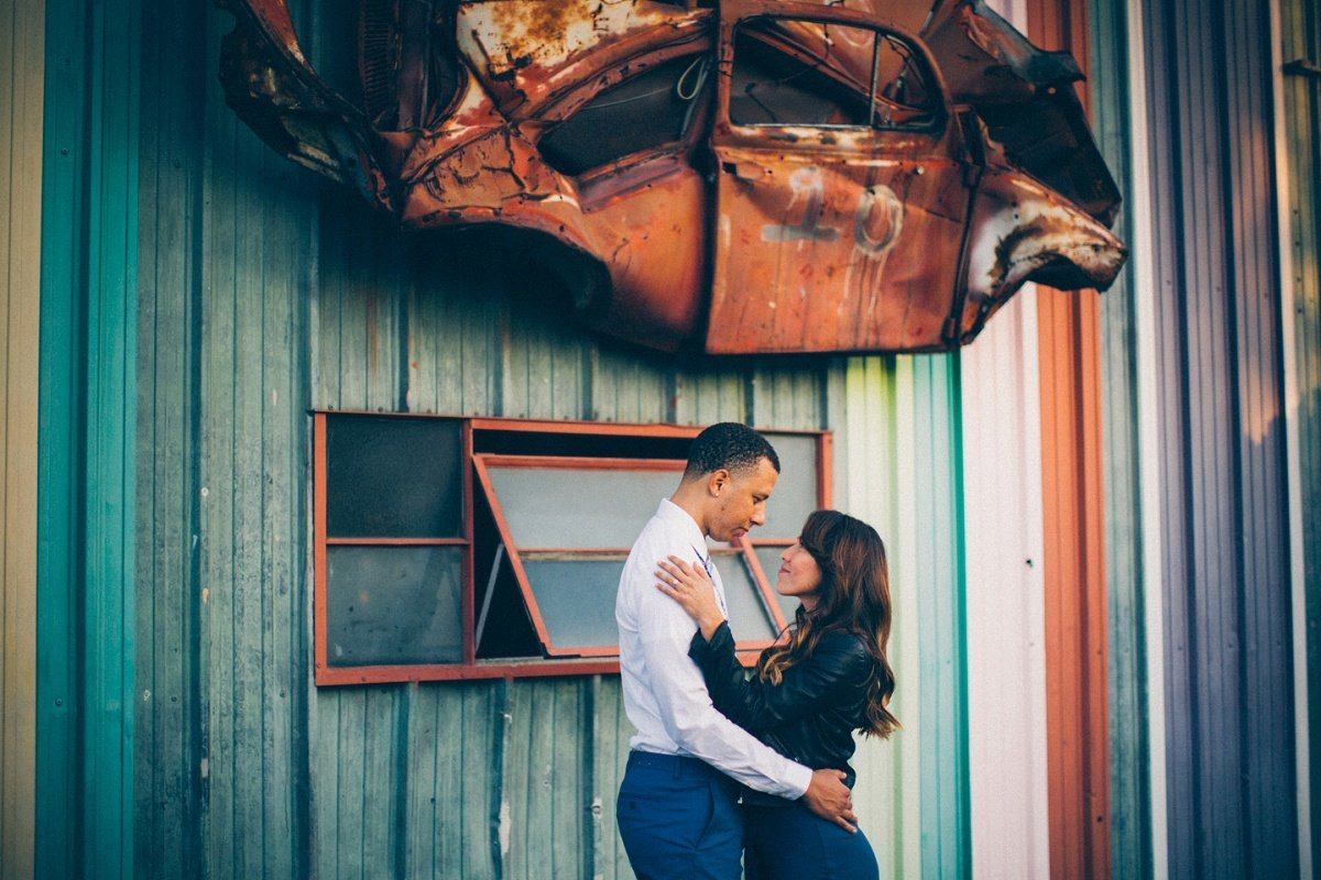 Engagement Photos The Lab Costa Mesa Industrial Urban
