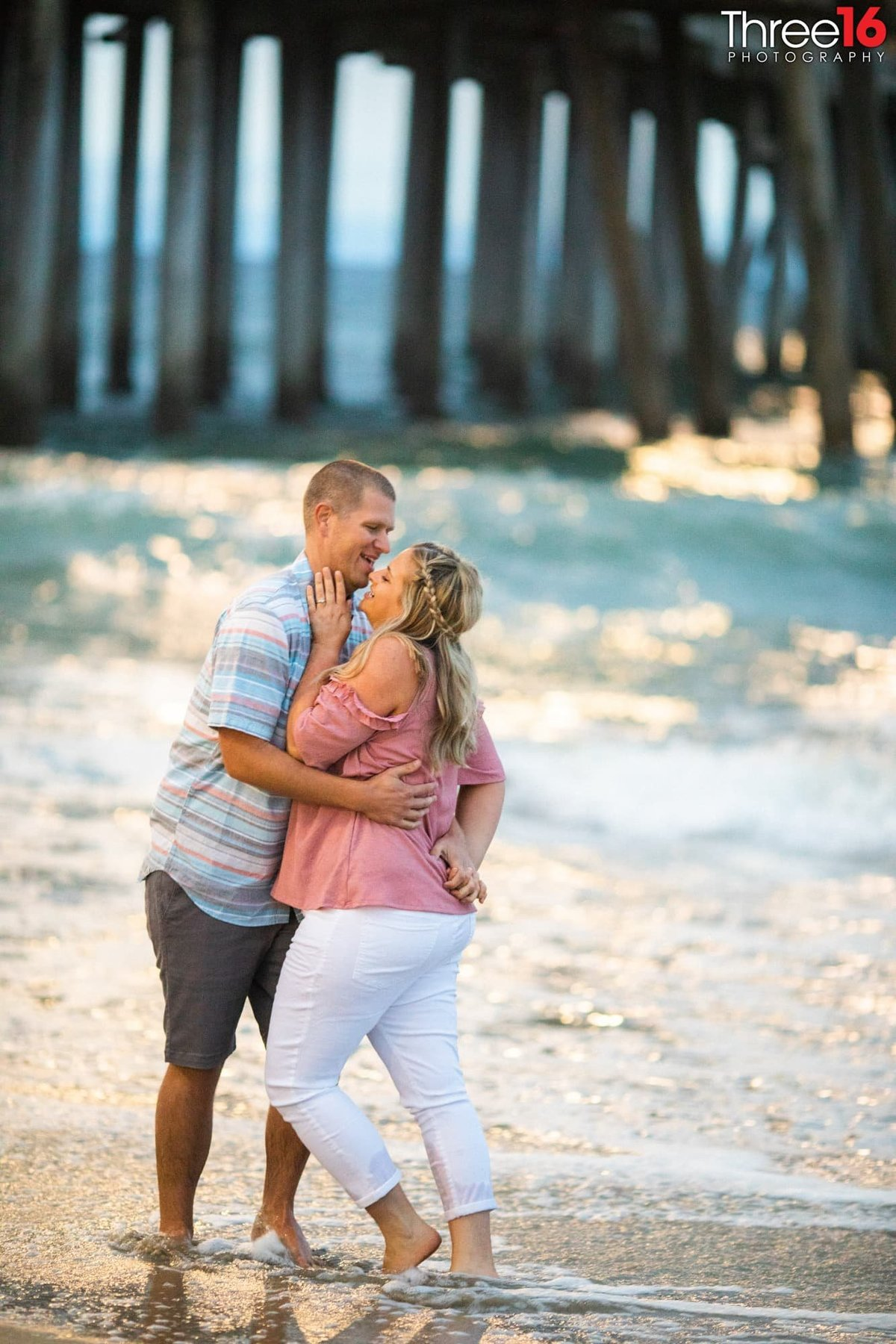 Huntington Beach Pier Engagement Photos Beach Weddings