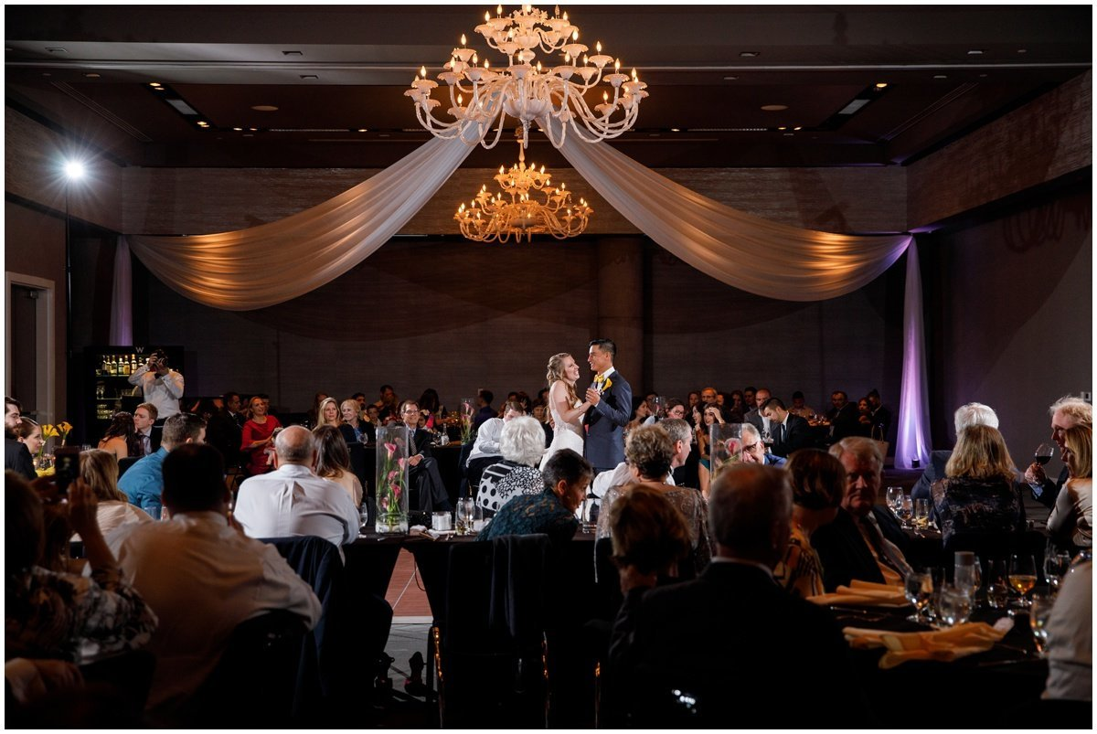 Austin wedding photographer w hotel wedding photographer first dance