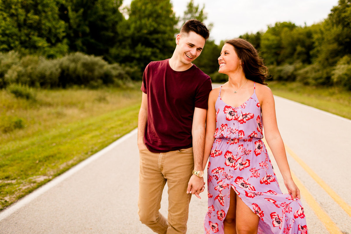Caitlin and Luke Photography Wedding Engagement Luxury Illinois Destination Colorful Bright Joyful Cheerful Photographer 322