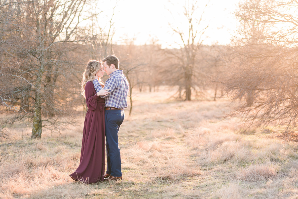 Dallas Engagement Photography at Arbor Hills Nature Preserve