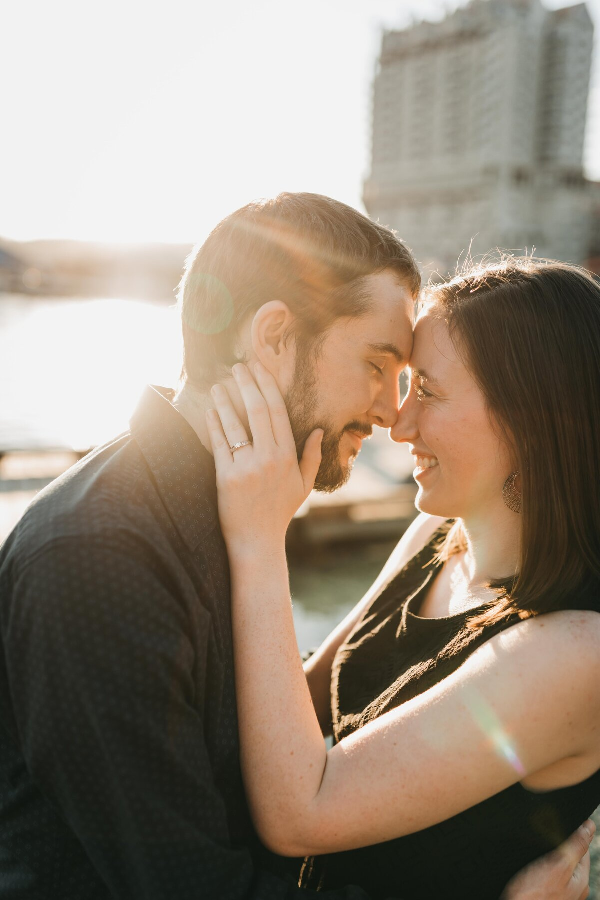 Tubbs Hill Engagement Session, Lake Coeur d'Alene Idaho Photographer - Clara Jay Photo-7
