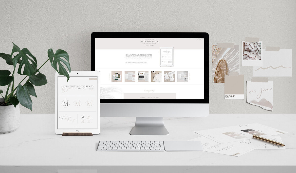 Website Design And Branding Mesmerizing Designs