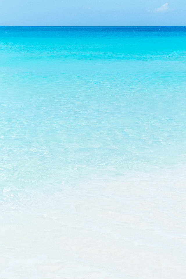 meads bay beach water in anguilla