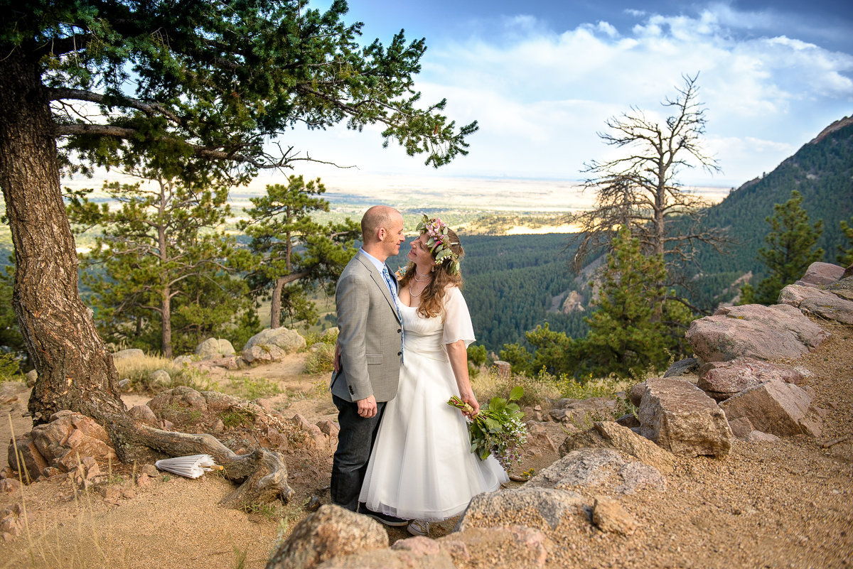 Wedding in Boulder Colorado
