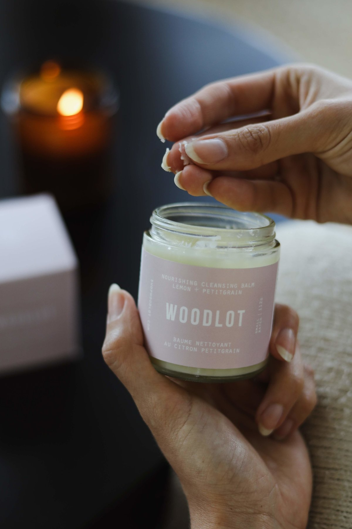 Woodlot Nourishing Cleansing Balm Makeup Remover by Travel and Lifestyle Blogger Alex Perry